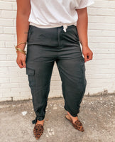 Cargo Pant with Ankle Detail