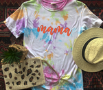 Customizable Tie Dye Tee