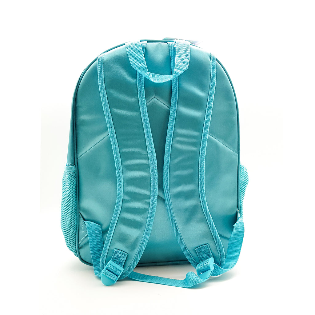 Shiny Shell Backpack With Lunch Bag