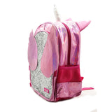 Unicorn Wing & Glitter Backpack Pink