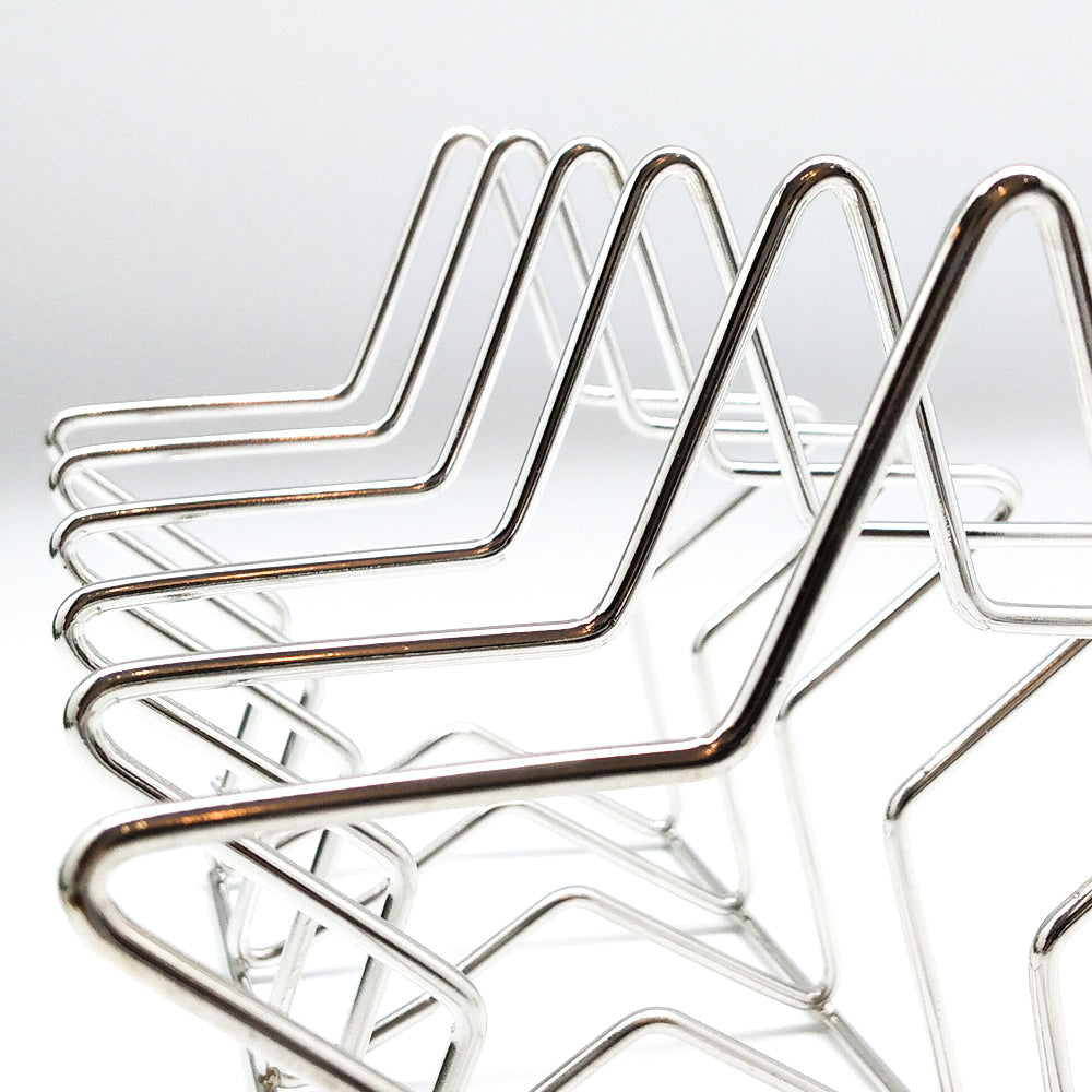 Metal Book Stand Sliver