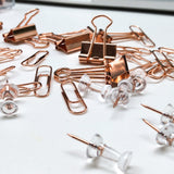 Rose Gold Stationery Accessories Set