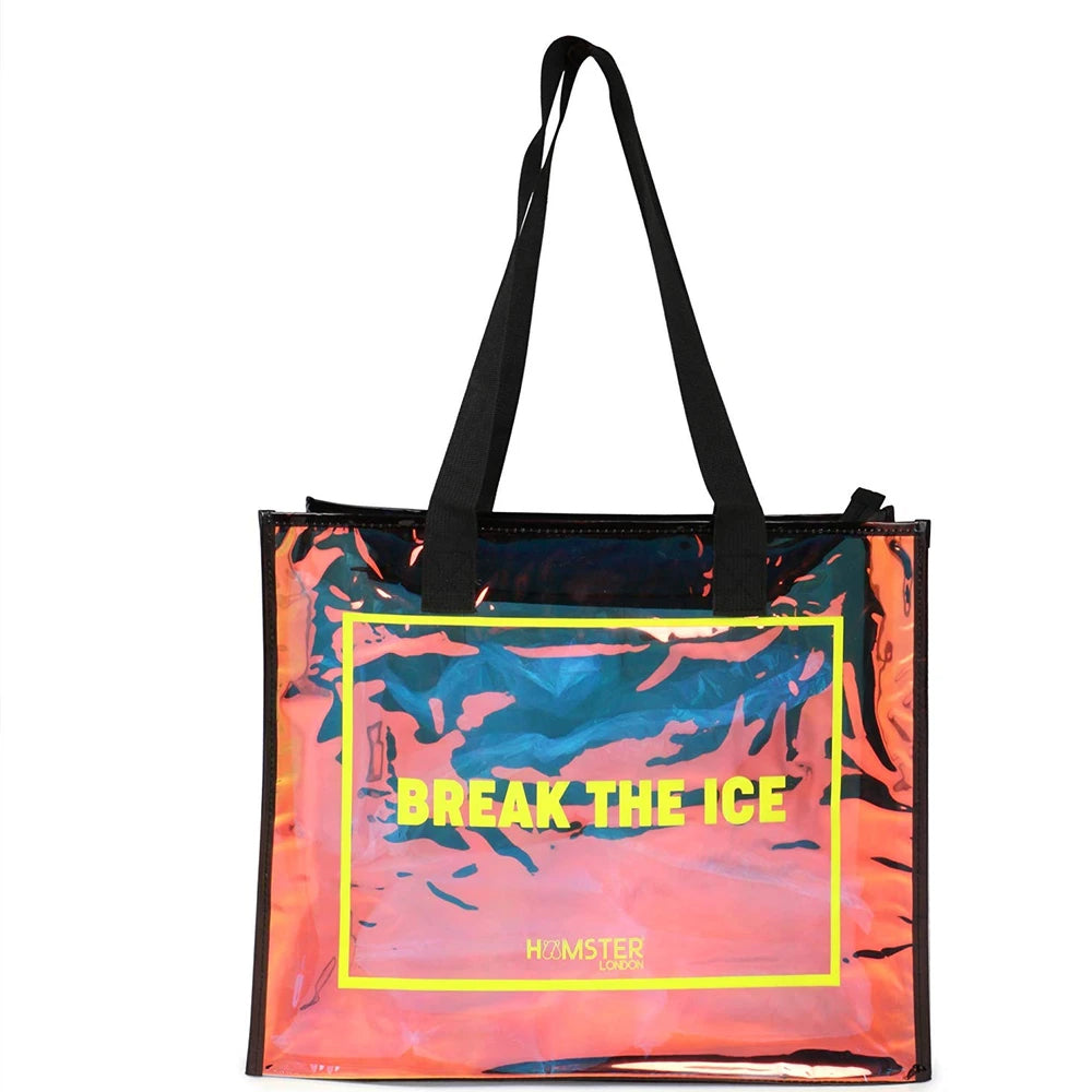 Tote Bag Black + Shell Pouch Black