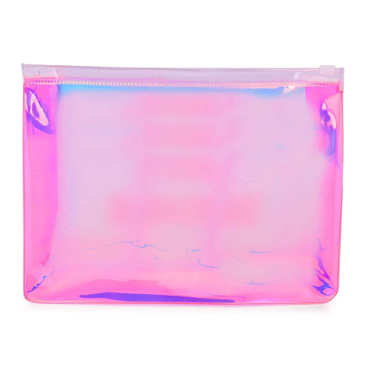 No Shades Just Sunshine Pouch Pink