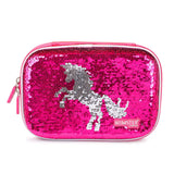 Reversible Sequence Multipurpose Pouch Unicorn