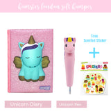 Gift Hamper Unicorn Diary & Pen