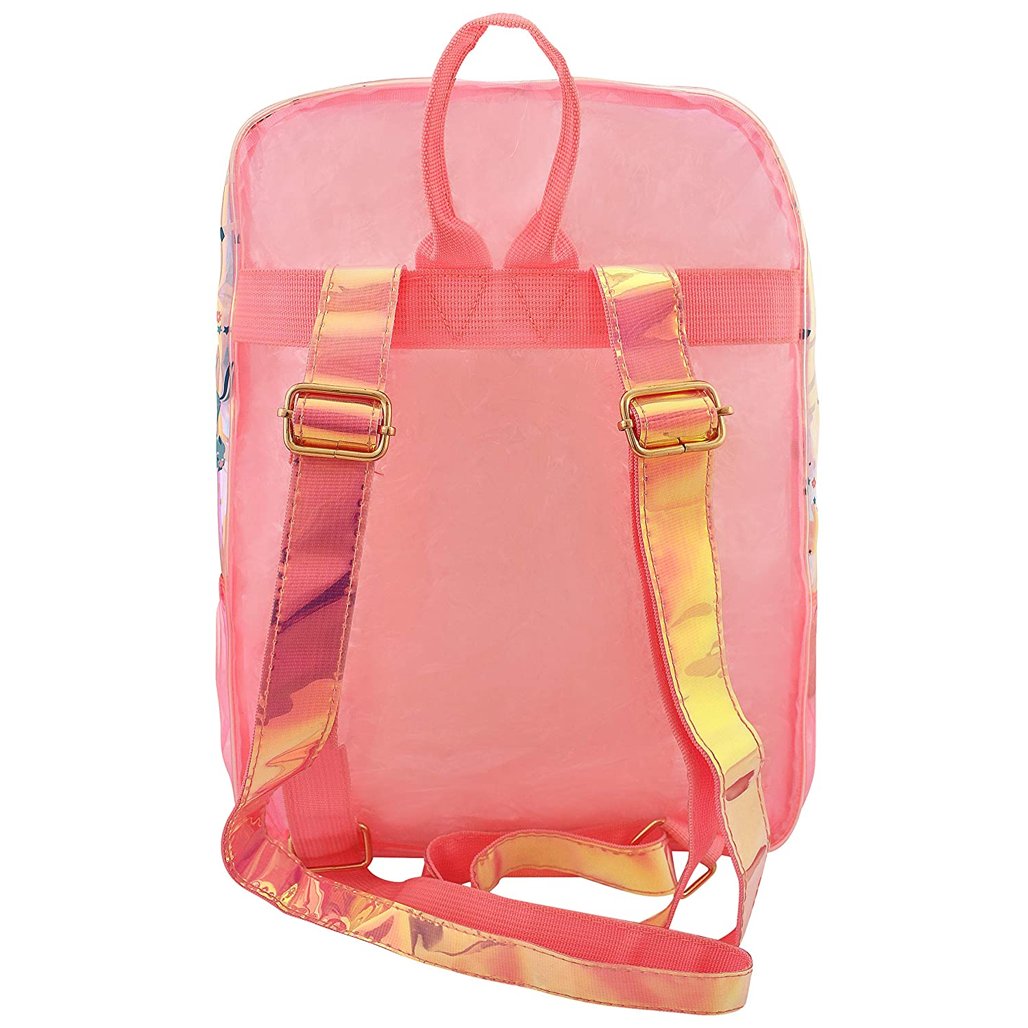 Girl's Fashion Shiny Backpack Unicorn Big