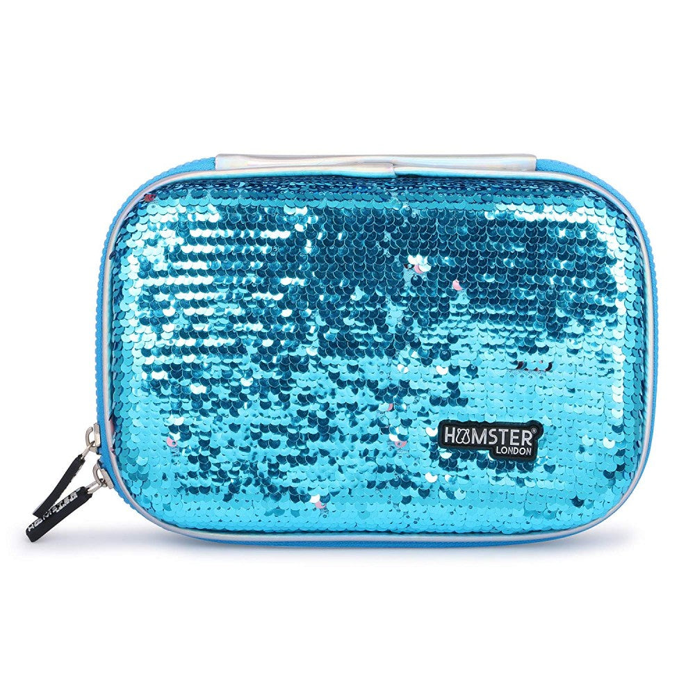 Reversible Sequence Multipurpose Pouch Blue