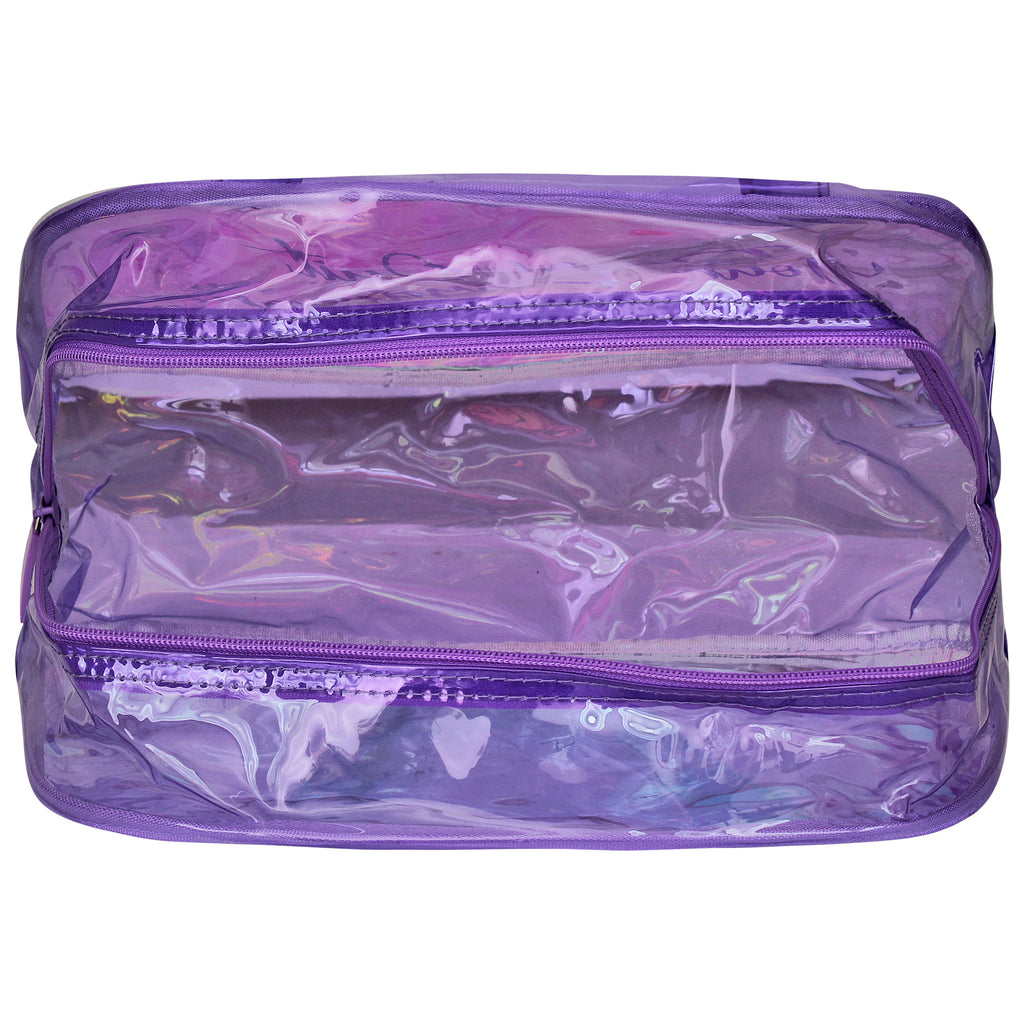 Boston Bag + Jumbo Case Purple