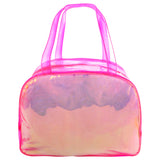 Shiny Boston Bag Pink