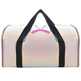 Shiny Duffle Bag Black & Holo Umbrella Black