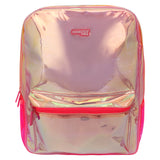 Girl's Fashion Shiny Backpack Pink Big