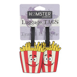 Luggage Tag French Fries set of 2