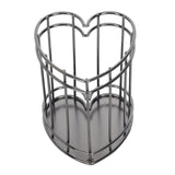 Grey Metal Stand Heart