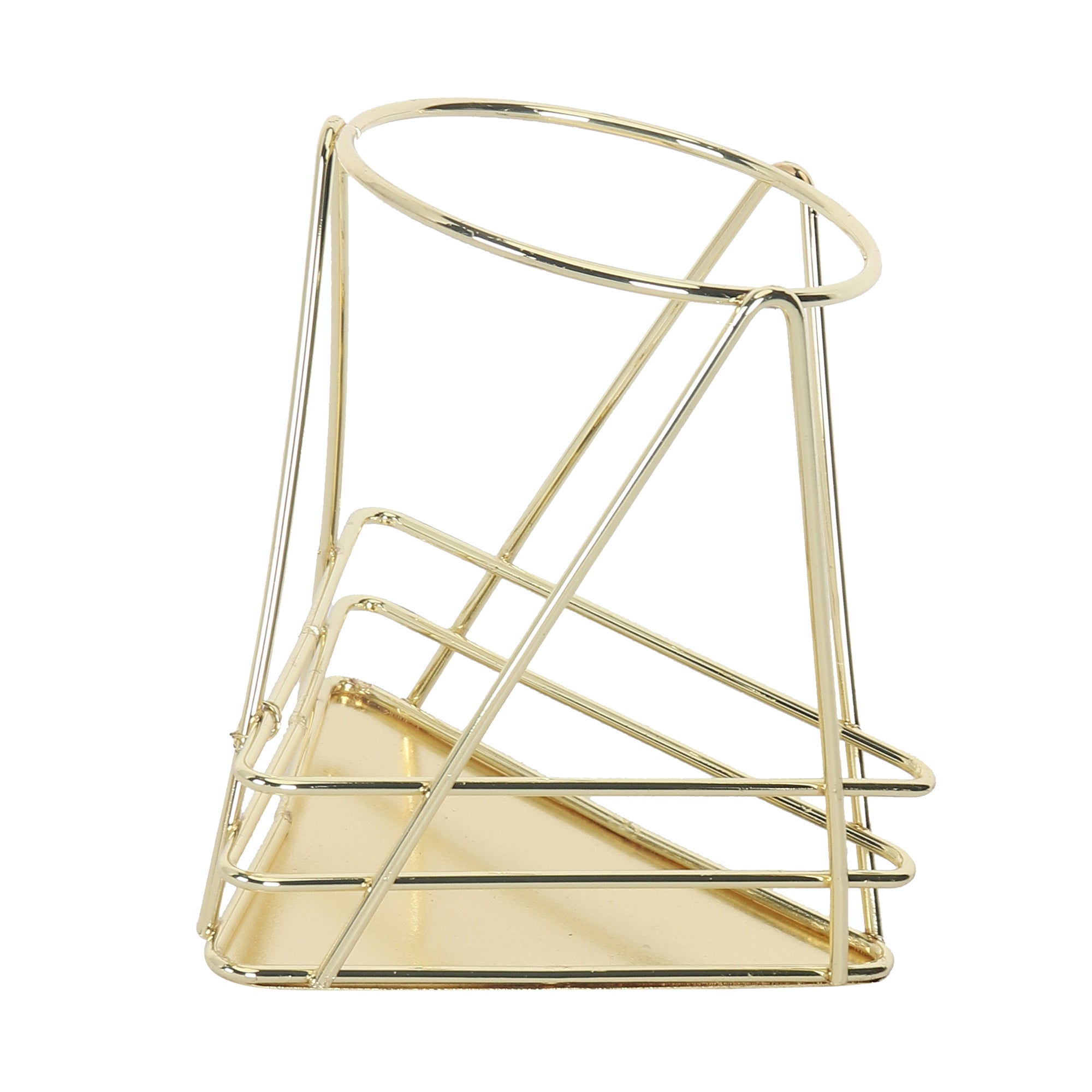 Gold Metal Stand Star Tri