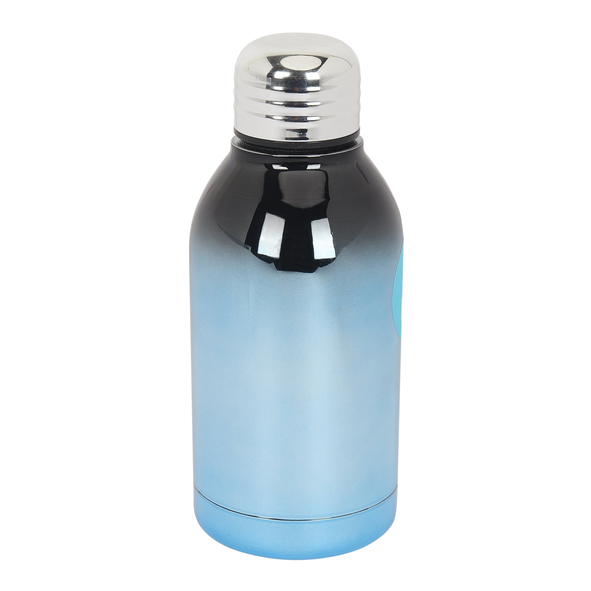 Mini Holo Metal Bottle - Blue
