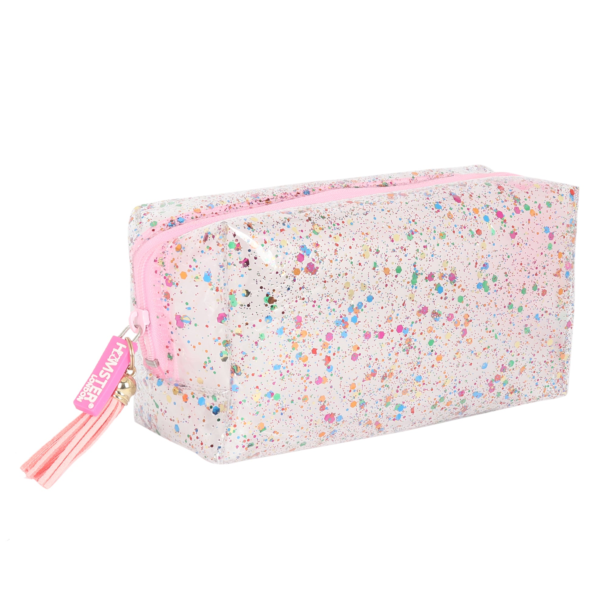 Party Collection Glitter Pink Pouch