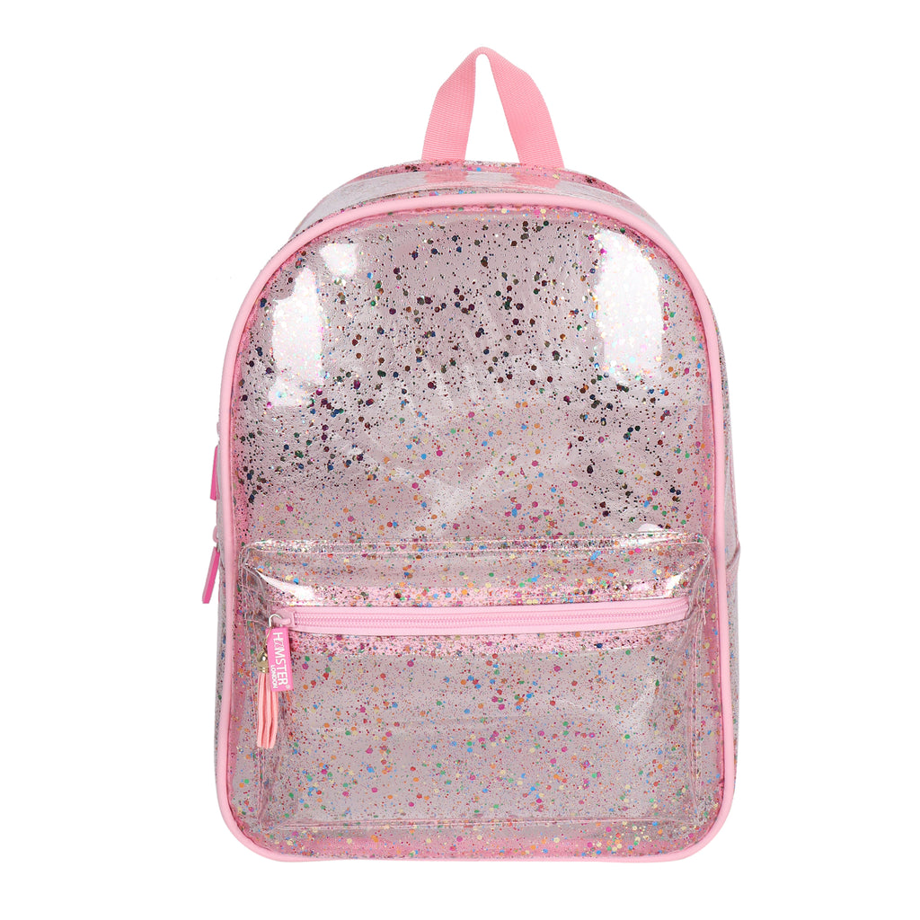 HL Starry Glitter Bag Pink with Free Pouch