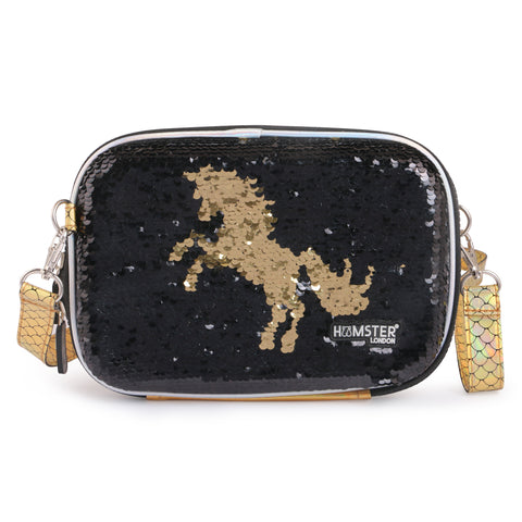 Reversible Sequence Cross Body Sling Bag Unicorn
