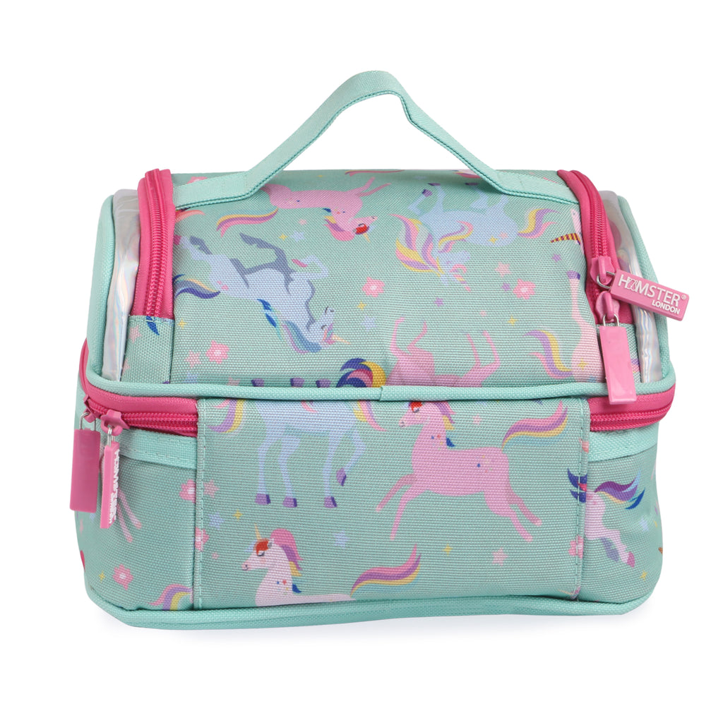 Unicorn Lunch Bag With Tiffin & Bottle