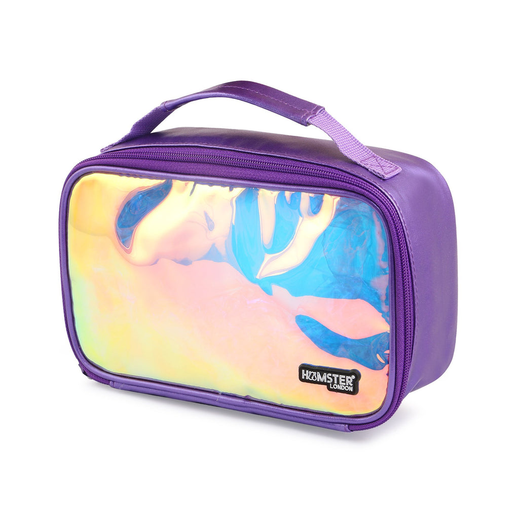 Shiny Makeup Jumbo Case Purple