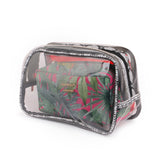 Cosmetic Bags Set Waterproof Zipper Set of 3