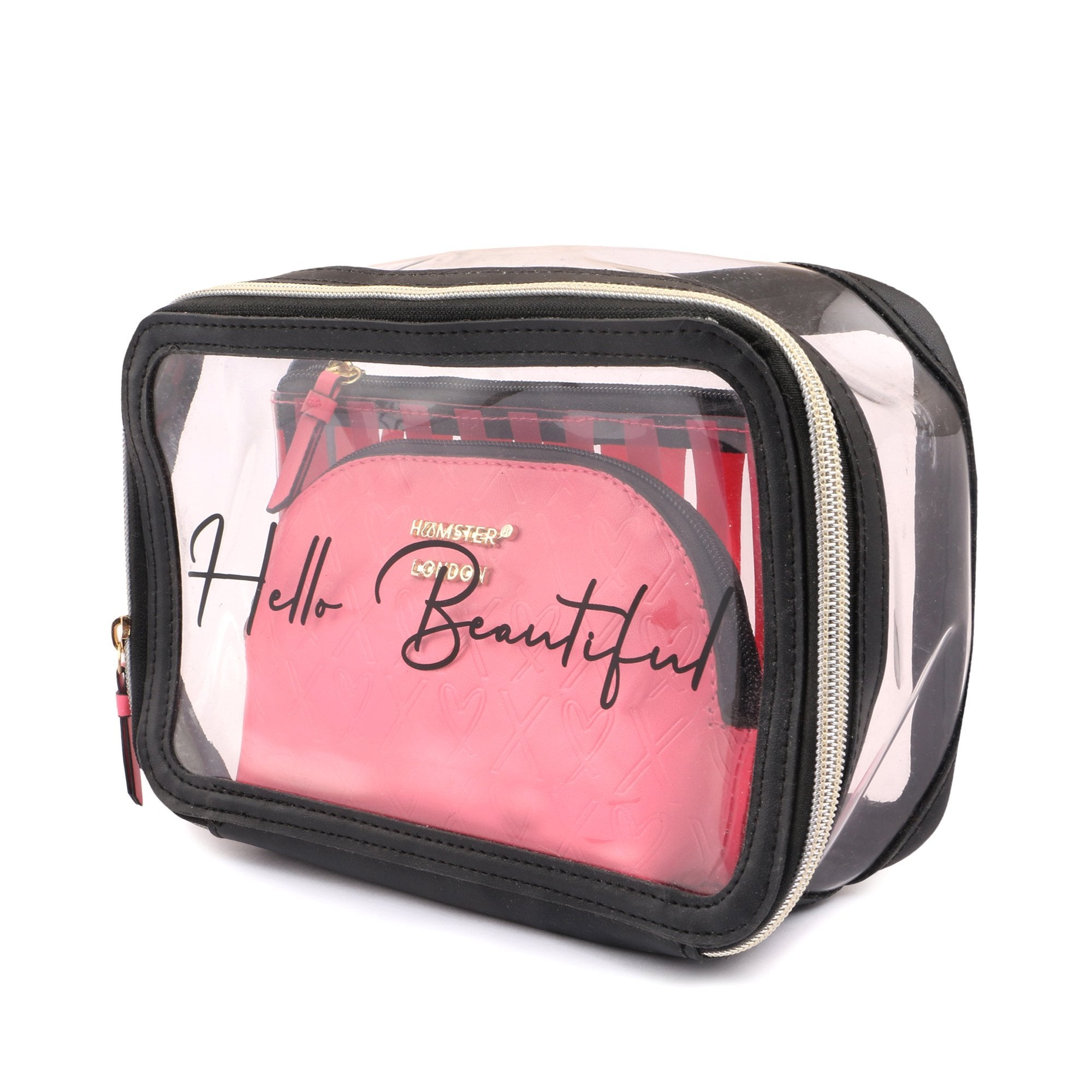 Multi Functional Cosmetic Travel Bags Pouch Set of 3