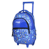 Trolley Backpack With Wheels Football