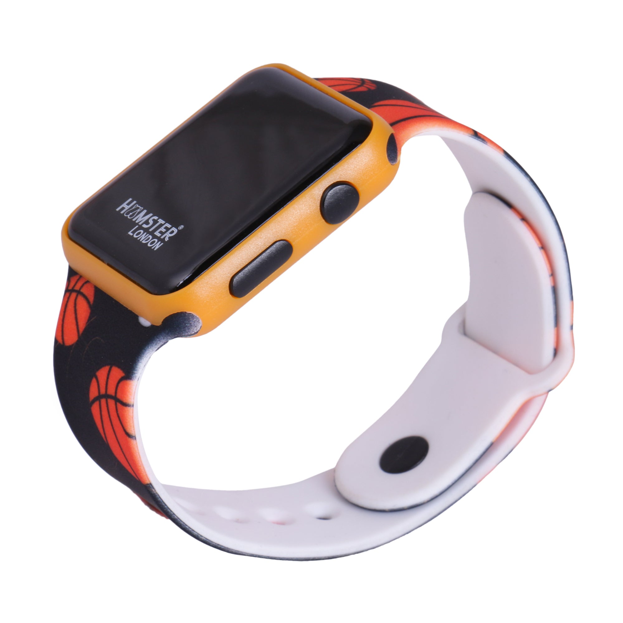 Hamster Silicone Band Digital Watch Basketball