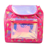 Girl's Fashion Shiny Backpack Pink Small