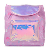 Girl's Fashion Shiny Backpack Mermaid