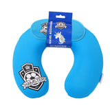 Travel Neck Neck Pillow & Eye Mask Set Football