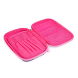 Reversible Sequence Multipurpose Pouch Pink