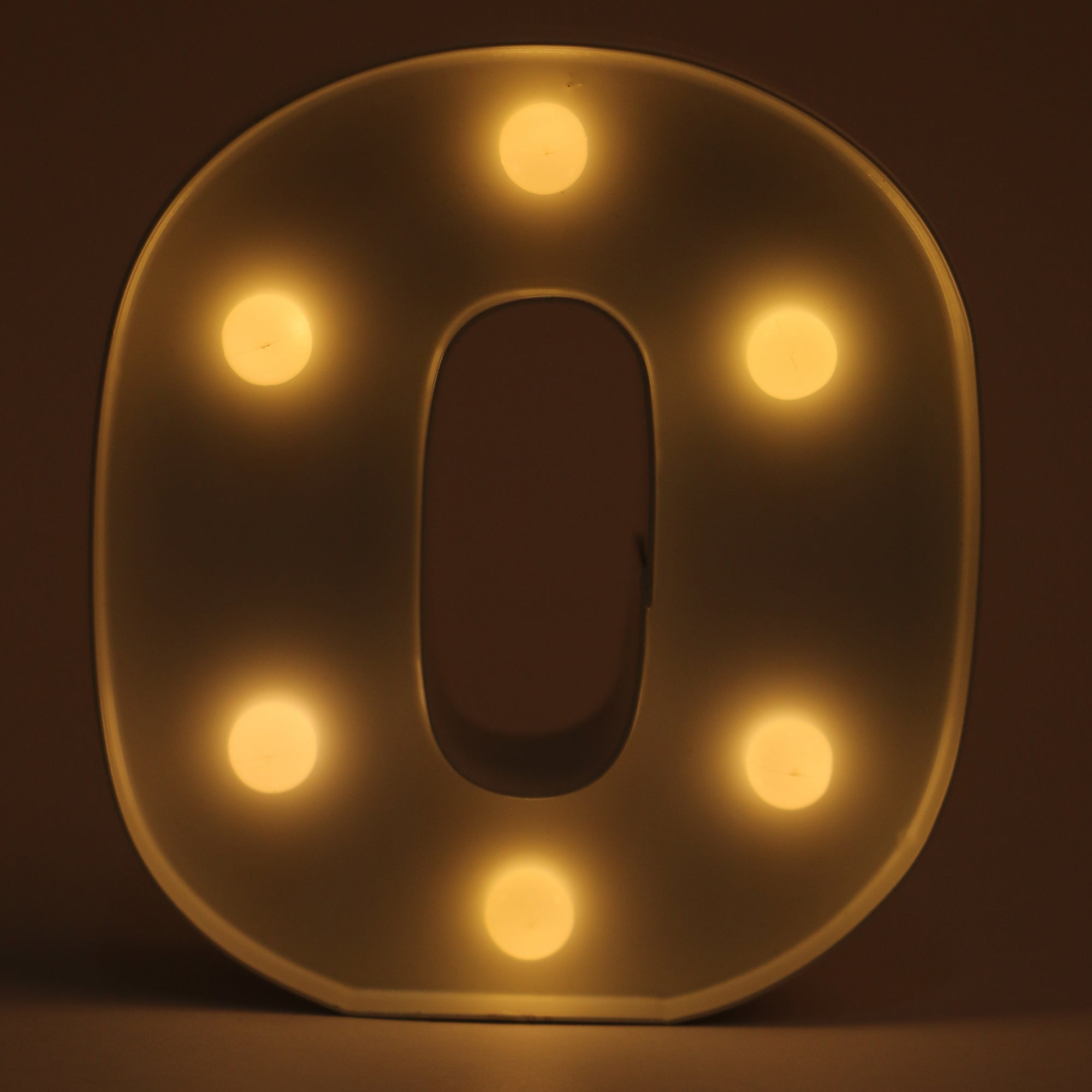 Alphabet LED Light (O)