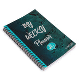 A5 Spiral Notebook My Weekly Planner