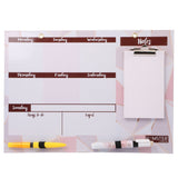 Hamster London  White Board with accessories.
