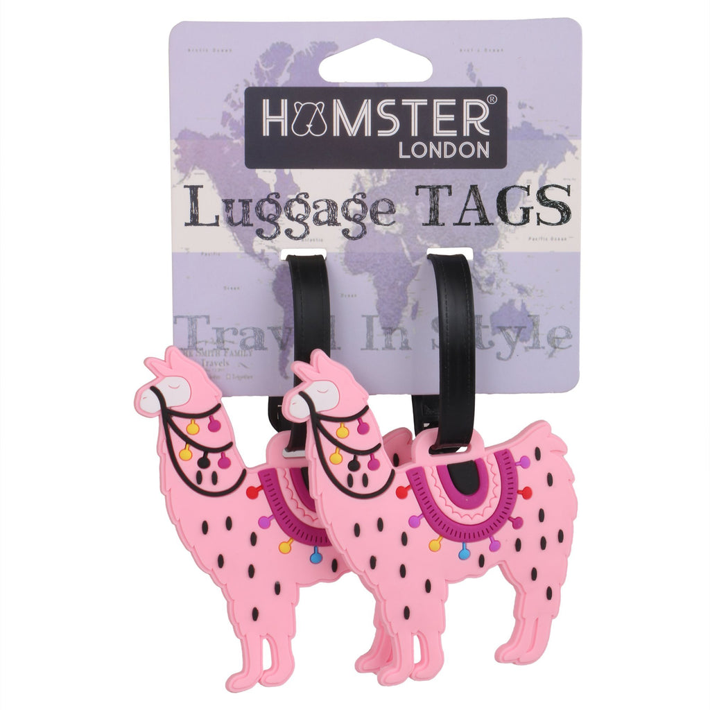 Luggage Tag Lama Set of 2