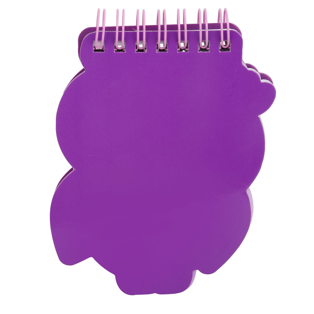 Silicon Notepad Purple Owl