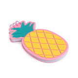 Silicon Notepad Yellow Pineapple