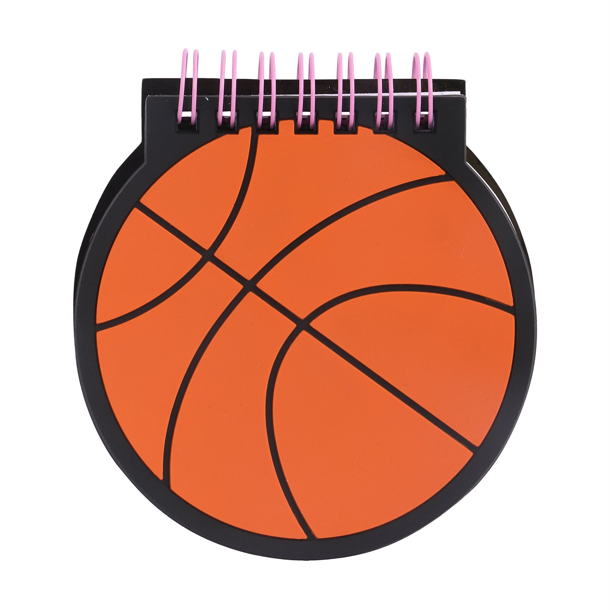 Silicon Notepad Black Basketball