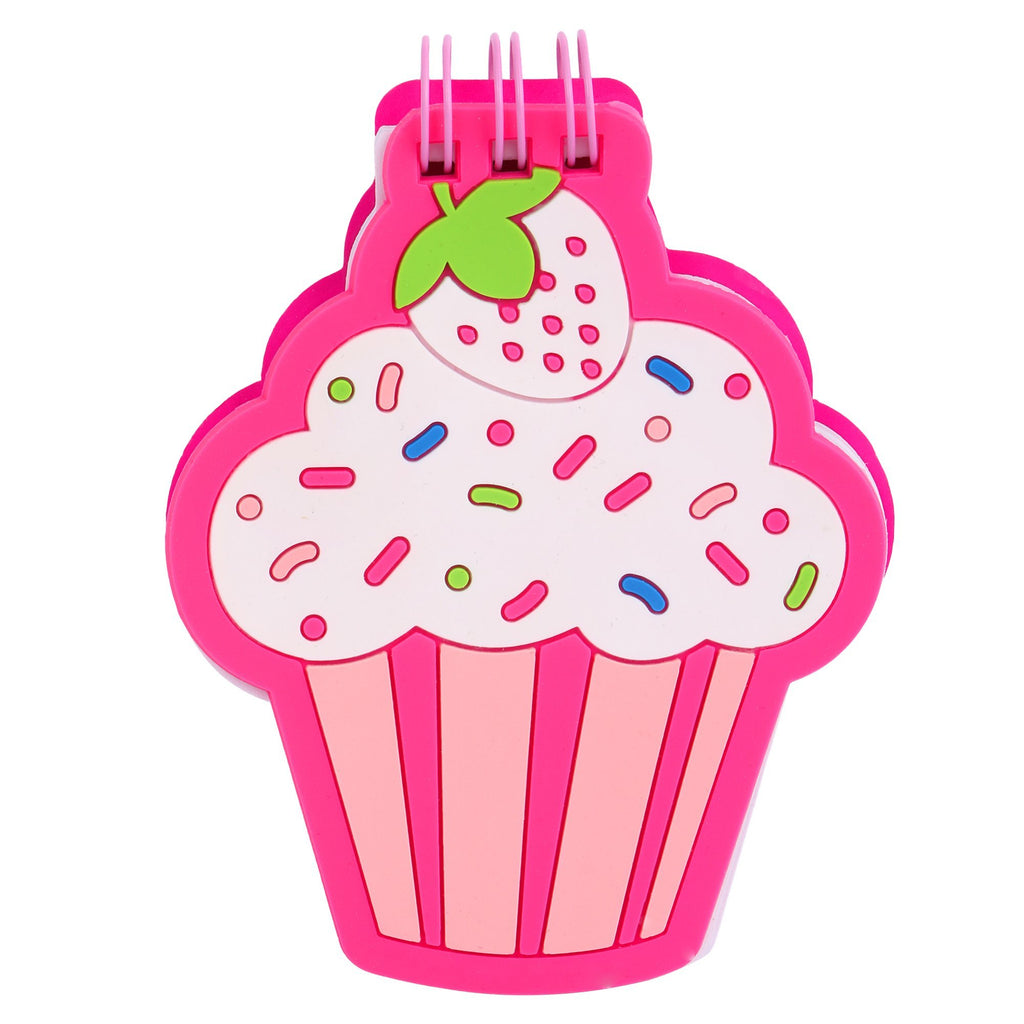 Silicon Notepad Pink Cupcake