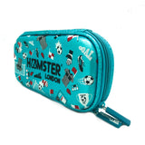 Hardtop Pencil Case Organizer Shiny Football Small
