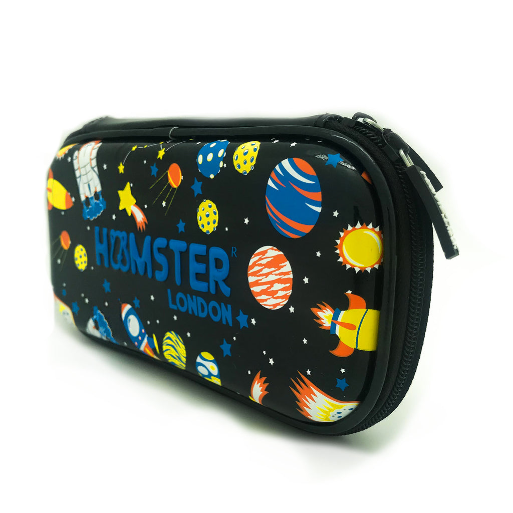 Hardtop Pencil Case Organizer Shiny Space Small