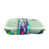 Silicon Bendable Tiffin Box Large Hot Pink
