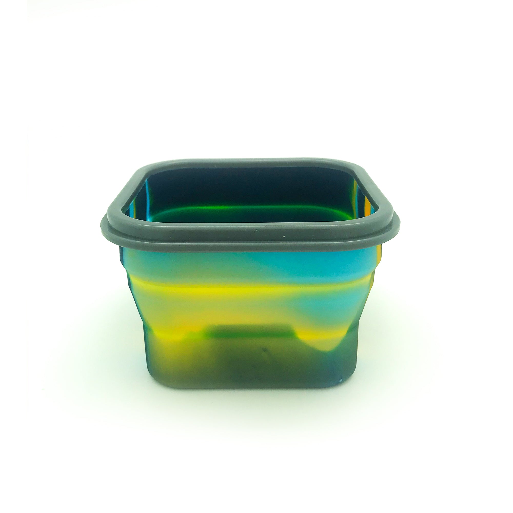 Silicon Bendable Tiffin Box Small Yellow