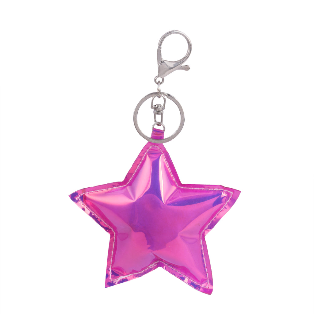 Star Keychain/ Keyring for Woman & Girl's (Pink)