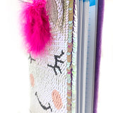 Unicorn Diary + Pencil + Sharpener + Book Band