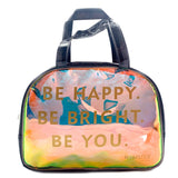 Be Happy Boston Bag Black