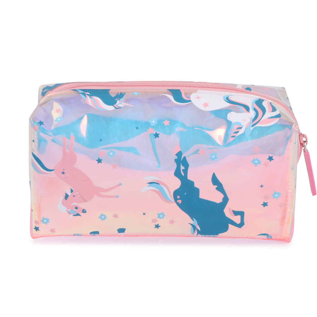 Girl's Makeup Pouch & Stationery Rectangle Pouch Unicorn