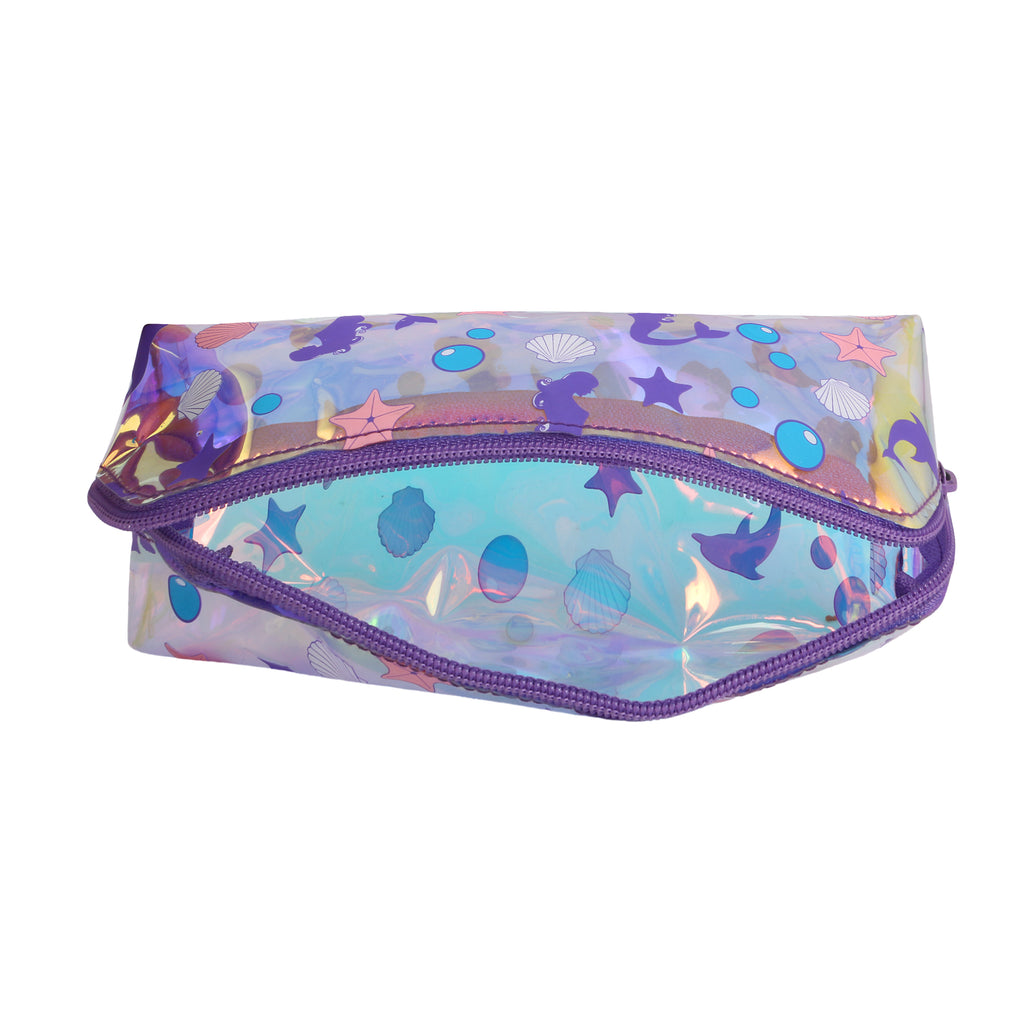 Girl's Makeup Pouch & Stationery Triangle Pouch Mermaid